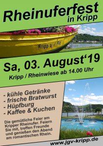 11. Rheinuferfest in Kripp